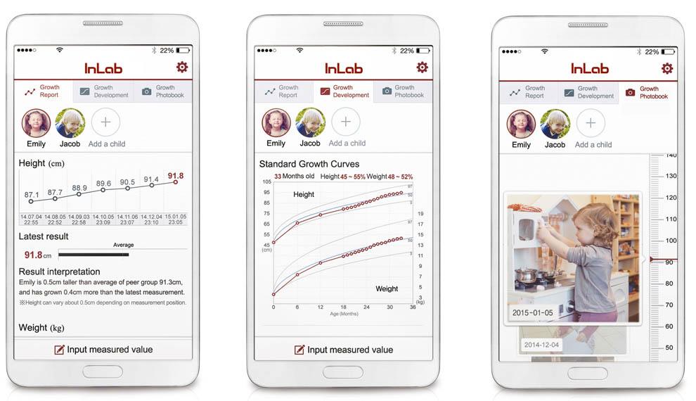 Скриншоты приложения Inbody Inlab