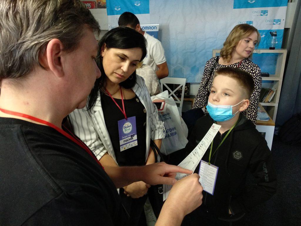 Участие InBody Украина на осеннем фестивале для людей с диабетом DiabetFest2021 Винница